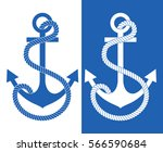 Pattern Anchor. Vector...