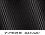 metal perforated background.... | Shutterstock .eps vector #566600284