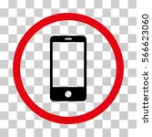 smartphone rounded icon. vector ... | Shutterstock .eps vector #566623060