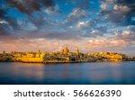 Malta Yellow Sunset With Blue...