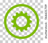 gear rounded icon. vector... | Shutterstock .eps vector #566631709