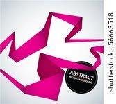 vector abstract trendy... | Shutterstock .eps vector #56663518