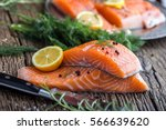 Salmon Fish..raw Salmon Fillet...