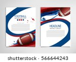 american football poster ...   Shutterstock .eps vector #566644243