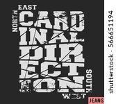 T Shirt Print Design. Cardinal...