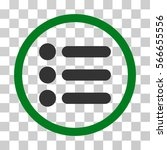 items rounded icon. vector...