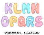 alphabet part2 | Shutterstock .eps vector #566669680