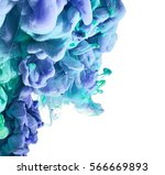 splash of paint isolated on... | Shutterstock . vector #566669893