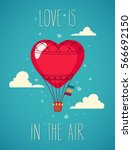card of love  wedding and... | Shutterstock .eps vector #566692150