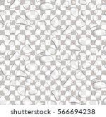 vector seamless pattern of... | Shutterstock .eps vector #566694238