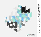 abstract conposition  version 2 ... | Shutterstock .eps vector #566697193