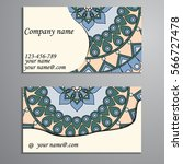 invitation  business card or...   Shutterstock .eps vector #566727478