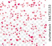 valentine background with... | Shutterstock .eps vector #566731153