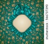 elegant template for luxury... | Shutterstock .eps vector #566737390