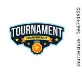 tournament sports league logo... | Shutterstock .eps vector #566741950