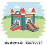 vector cartoon illustration of...   Shutterstock .eps vector #566750764