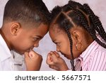 a sister and brother ready to... | Shutterstock . vector #5667571