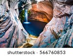 spa pool  hamersley gorge ... | Shutterstock . vector #566760853
