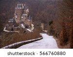 burg eltz  germany   january 07 ... | Shutterstock . vector #566760880