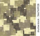 seamless pattern. stylized... | Shutterstock .eps vector #566769928