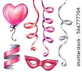 watercolor illustration ... | Shutterstock . vector #566777704