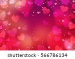 Hearts. Valentine's Day...