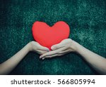hands couple of man and woman... | Shutterstock . vector #566805994