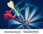 dart is an opportunity ... | Shutterstock . vector #566820904