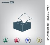 vote ballot icon.