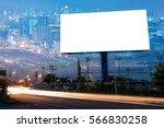 double exposure of blank... | Shutterstock . vector #566830258
