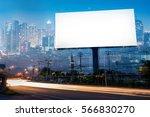 double exposure of blank... | Shutterstock . vector #566830270