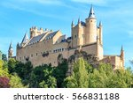 The Famous Alcazar Of Segovia ...