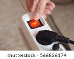 electricity usage saving power | Shutterstock . vector #566836174