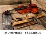 violin making   violin maker... | Shutterstock . vector #566838508