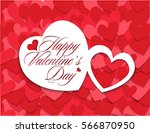 valentine's day holiday...   Shutterstock .eps vector #566870950