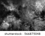 abstract black and white hand... | Shutterstock . vector #566875048