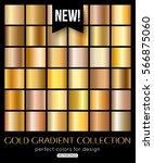 shiny gold texture  gradient... | Shutterstock .eps vector #566875060