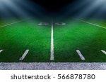 american football stadium | Shutterstock . vector #566878780