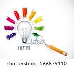 design of progress bar  loading ... | Shutterstock .eps vector #566879110