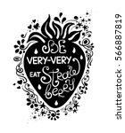 illustration of strawberry...   Shutterstock .eps vector #566887819