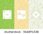 vitamins seamless pattern.... | Shutterstock .eps vector #566891338