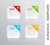 information paper card set... | Shutterstock .eps vector #566891650