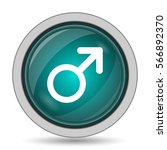 male sign icon  website button... | Shutterstock . vector #566892370