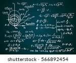 the law of centrifugal force of ... | Shutterstock .eps vector #566892454