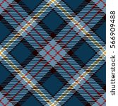 tartan seamless pattern... | Shutterstock .eps vector #566909488
