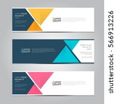 vector design banner background. | Shutterstock .eps vector #566913226