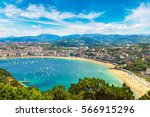 panoramic aerial view of san... | Shutterstock . vector #566915296