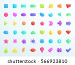 big colourful gradient generic...   Shutterstock .eps vector #566923810