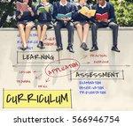 institute school certification... | Shutterstock . vector #566946754