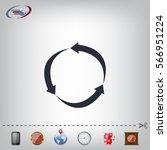 arrow circle icon   cycle  loop ...